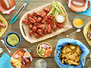 10 Recipes for a Touchdown<br /> Tailgate