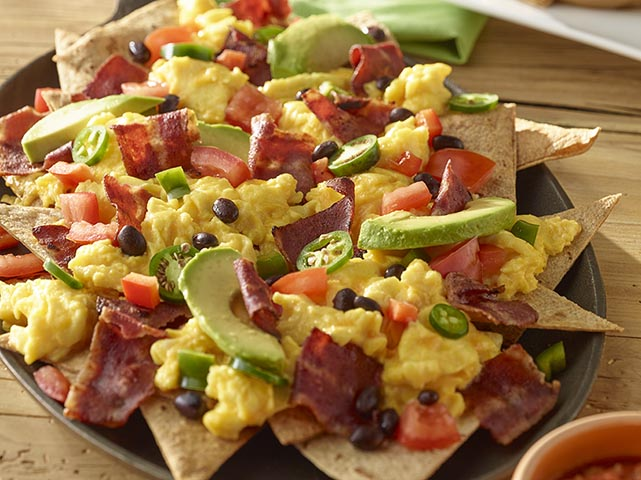 Bacon Breakfast Nachos