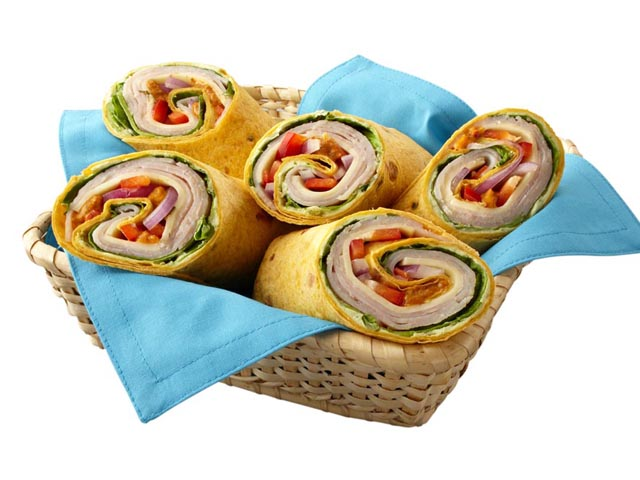 Southwest Turkey Wraps