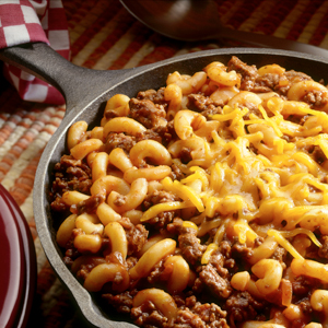 Beefy Macaroni Supper
