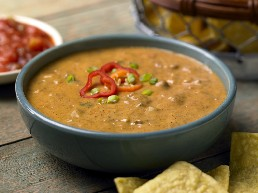 Chili Cheese Dip with Chips