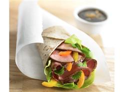 ASIAN BBQ BEEF WRAP